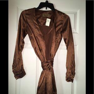 NWT Karen Zambos vintage couture blouse